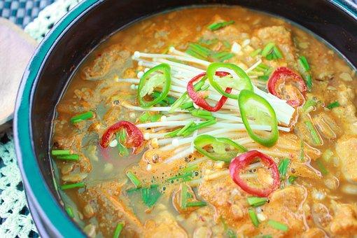Soybean, Nabe, Republic Of Korea, Food, Soup, Asian