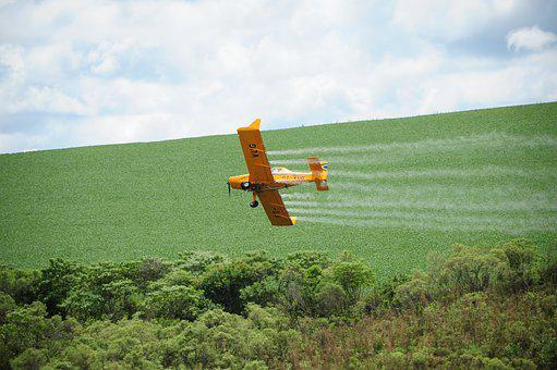 Agriculture, Aviation, Farm, Soybeans