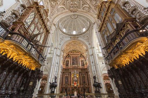 Architecture, Spain, Cordoba, Mezquita, World Heritage