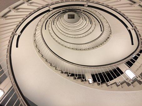 Spiral Staircase, Staircase, Spiral, Step, Design