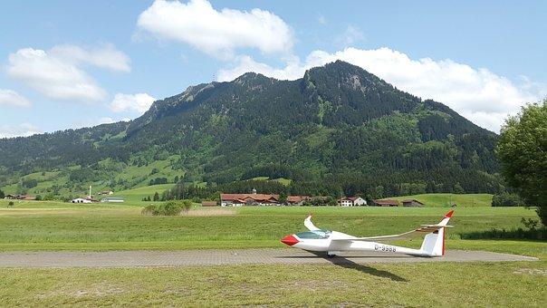 Gliding, Glider, Glider Pilot, Aircraft, Start, Airport