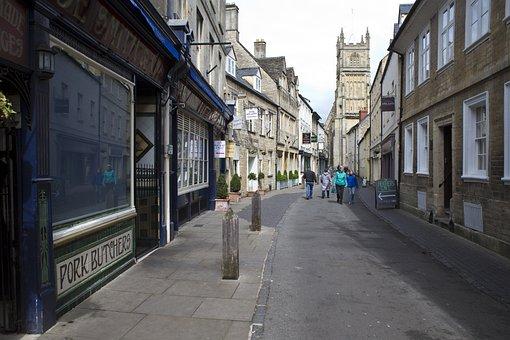 Cirencester, Uk, Street Scene, Vernacular