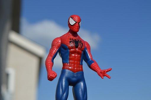 Spiderman, Superhero, Hero, Comic, Action Figure, Toy