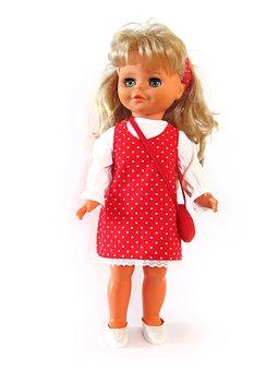 Doll, Toys, Handbag, Girl, Children, Play