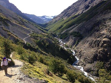 Trail, Patagonia, Nature, Torres Del Paine