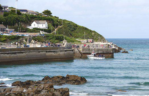 Newquay, Cornwall, England, Sea, Beach, Water, British