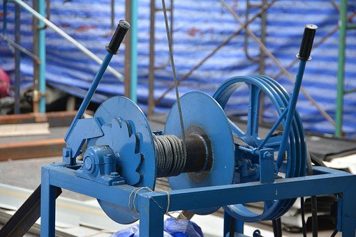 Winch, Cable Wire, Cable, Steel, Equipment, Wire