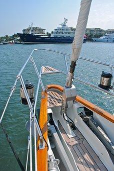 Sailboat, Boat, Sail, Nautical, Yachting, Marine