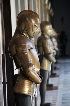 Armour, Sculpture, Weapon, People, Statue, Ancient