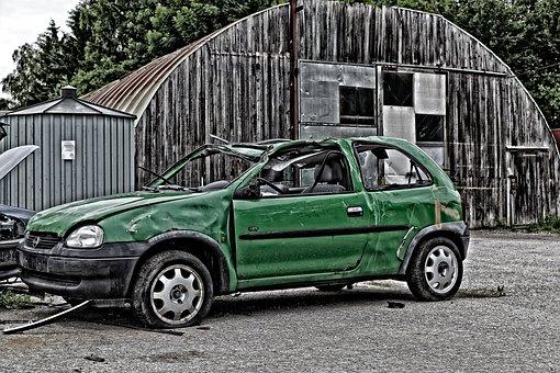 Auto, Vehicle, Transport System, Scrap