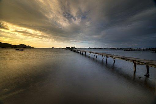 Background, Phuquoc, Island, Vietnam, Dawn, Nice