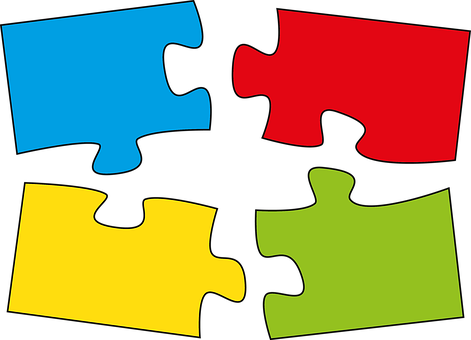 Puzzle, Pieces Of The Puzzle, Belonging Together