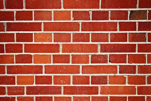 Wall, Brick Wall, Red Brick Wall, Bricks, Masonry