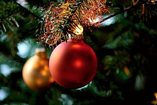 Christmas Balls, Tree, Christmas, Christmas Decorations