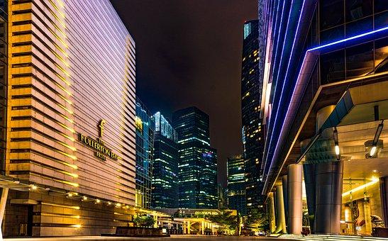 Architecture, Skyscraper, City, Modern, Downtown