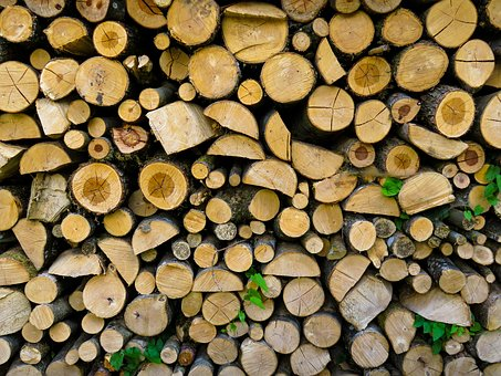 Background, Texture, Tribe, Firewood, Holzstapel