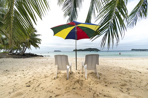 Phuquoc, Island, Vietnam, Chair, The Beach, Tree