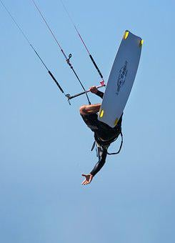 Kite Boarder, Kite Boarding, Kite Surfing, Kite-surfing