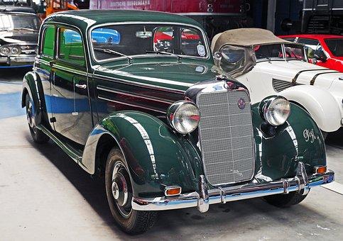 Mercedes 170s, Limousine, Pkw, Post War Period