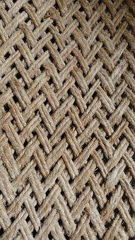 Weaving, Craft, Pattern, Wicker, Net, Fabric, Rope