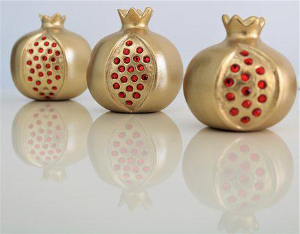 Ornaments, Celebration, Wallpaper, Shining, No One