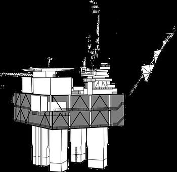 Oil Rig, Drilling, Offshore, Oil, Platform, Derrick