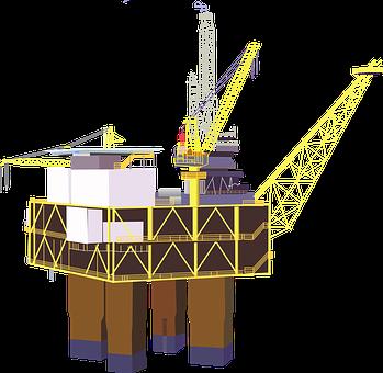 Oil Rig, Rig, Platform, Derrick, Offshore, Industry