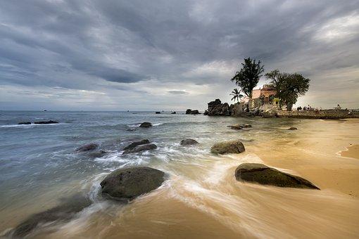 Summer, Travel, Phuquoc, Island, Vietnam, Sunset