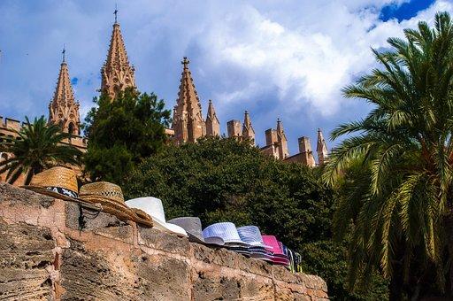 Hat, Hats, Mallorca, Travel, Tourism, Sky, Tree