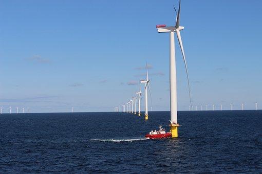 Turbine Till, Wind Farm, Anholt, 111 Wind Turbines