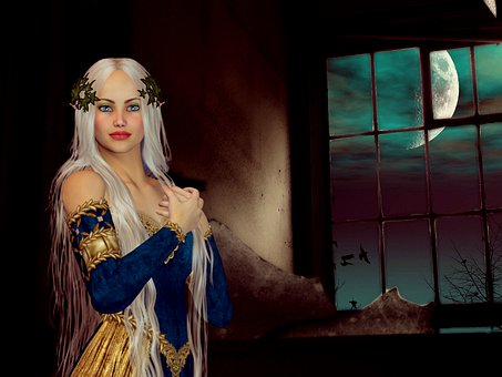 Woman, Adult, Dress, Fantasy, Fairy Tale, Princess