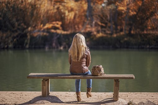 Body Of Water, Nature, Wood, Outdoors, Lake, Autumn