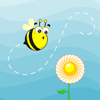 Mascot, Bee, Animal, Cute, Smile, Insect, Character