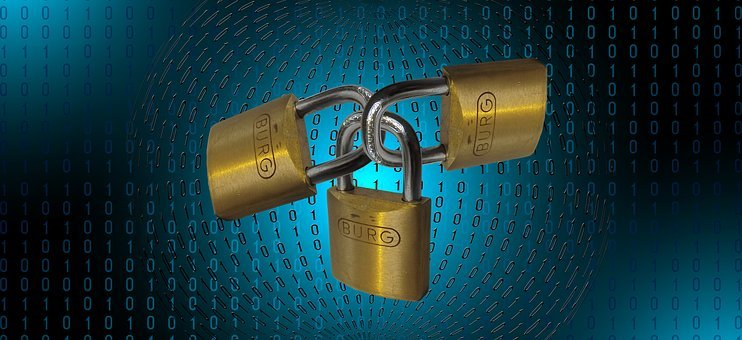 Padlock, Matrix, Binary, Security, Code, Communication