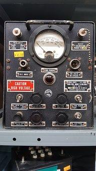 Radio, Knob, Control, Power, Equipment, Ham Gear