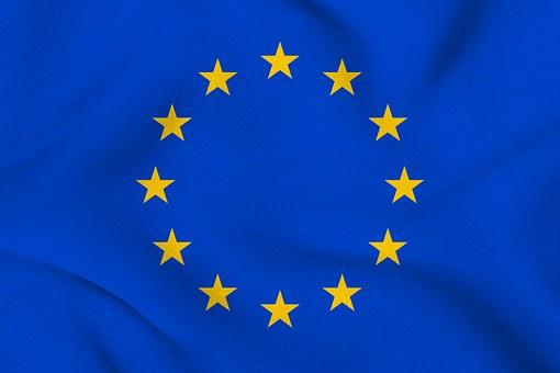 Europe, Flag, Eu, European, Euro, Star