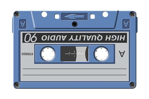 Cassette, Tape, Audio, Music, Songs, Sound, Vintage