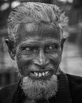 Portrait, People, Adult, Facial Hair, Man, Mustache