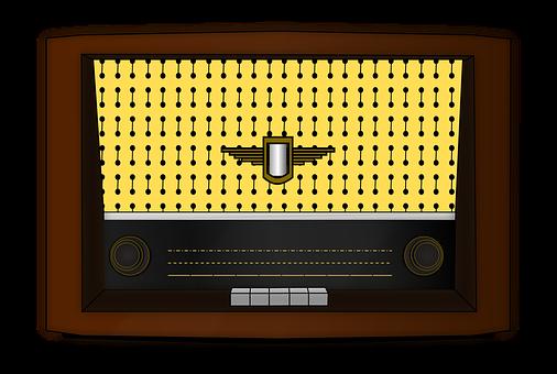 Radio, Old Fashioned, Retro, Vintage, Knobs