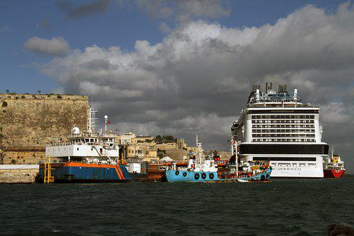 Cruise Ship, Boats, Port, Water, Travel, Sea, Harbour
