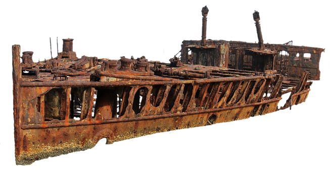 Ship, Wreck, Old, Stainless, Stranded, Ship Wreck