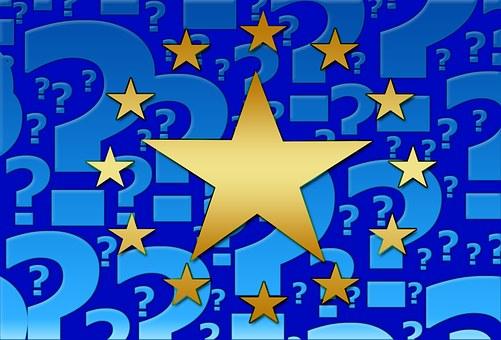 Europe, Flag, Star, European, Yellow, Symbol