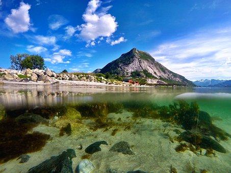 Water, Travel, Nature, Landscape, Seashore, Summer