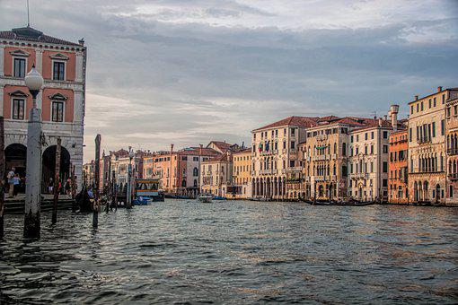 Venice, Italy, Venetian Canal, Grand Canal