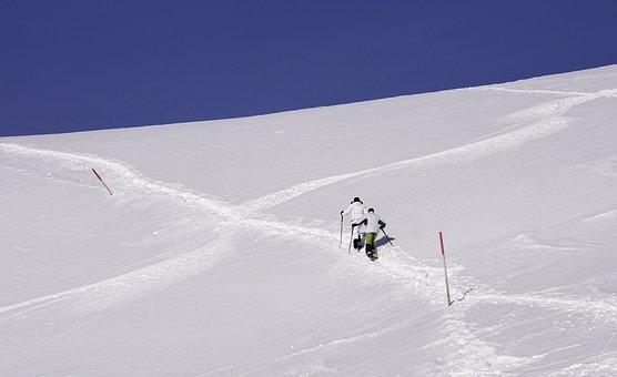 Snow, Winter, Cold, Adventure, Mountain, Hill, Sky