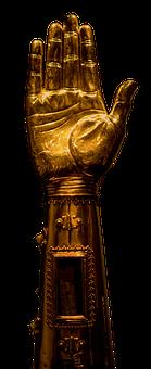 Sculpture, Golden, Antiquity, Statue, Art, Religion