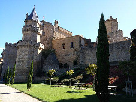 Architecture, Palace, Travel, Building, Open Air, Olite