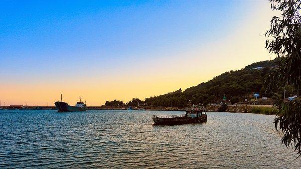 Water, Marine, Boat, Travel, Transportation, Ship, Sky