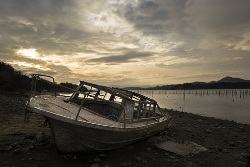 Body Of Water, Sea, River, Transport, Boat, Marsh