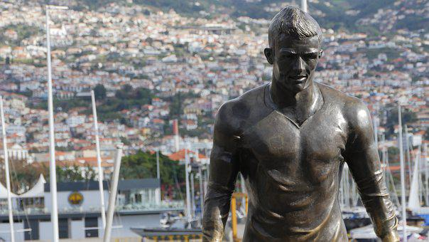 Travel, Cristiano Ronaldo, Cr7, Bronze, Funchal